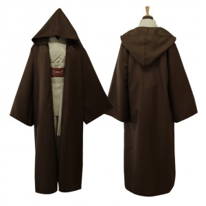 Star Wars Anakin Skywalker Cosplay Costume Version Marrón