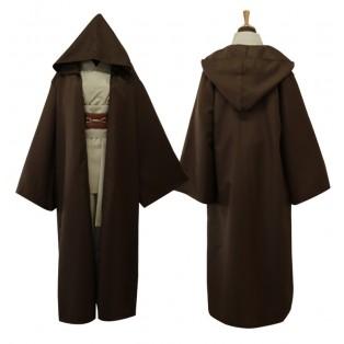 Star Wars Anakin Skywalker Cosplay Costume Version Marrón