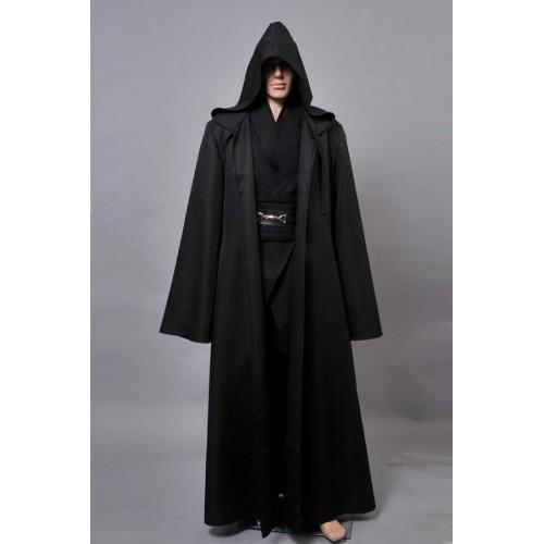 Star Wars Anakin Skywalker Cosplay Disfraz Negro