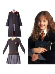 Disfraz De Harry Potter Niña Niño Adulto Gryffindor Uniforme Hermione Granger Cosplay Uniforme De Harry Potter Mujer
