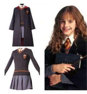 Disfraz De Harry Potter Niña Niño Adulto Gryffindor Uniforme Hermione Granger Cosplay Uniforme De Harry Potter Mujer