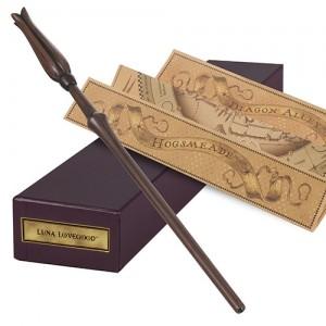 Harry Potter Varita mágica Luna Lovegood Accesorios cosplay
